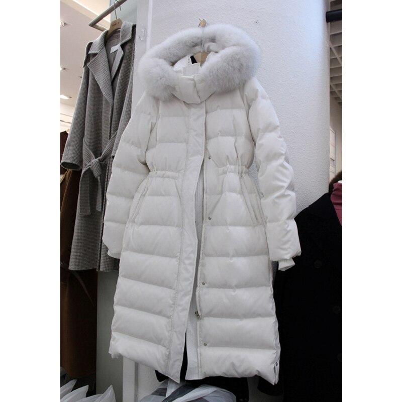 Long Noir Blanc Bas Looes Casual Z Taille Vestes 2018 À Vers zoux white Femmes Haute Mode Nouvelle Manteau Veste Le Capuchon Black eHYWD9IE2b