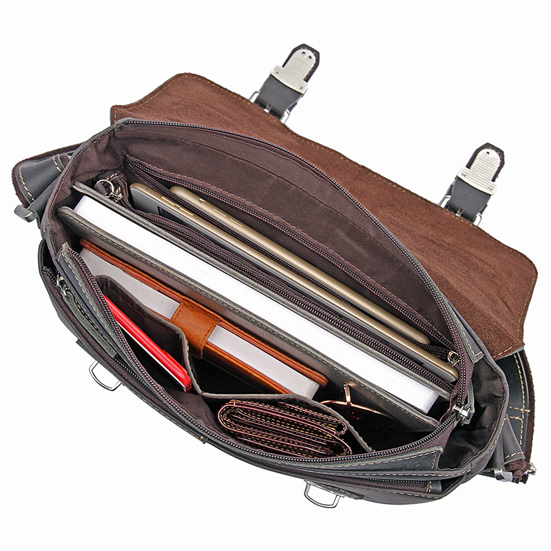 J M D Crazy Horse Leather Men 39 s Messenger Bag Vintage Fashion Crossbody Sling Bag Small Shoulder Bag 6002J in Crossbody Bags from Luggage amp Bags