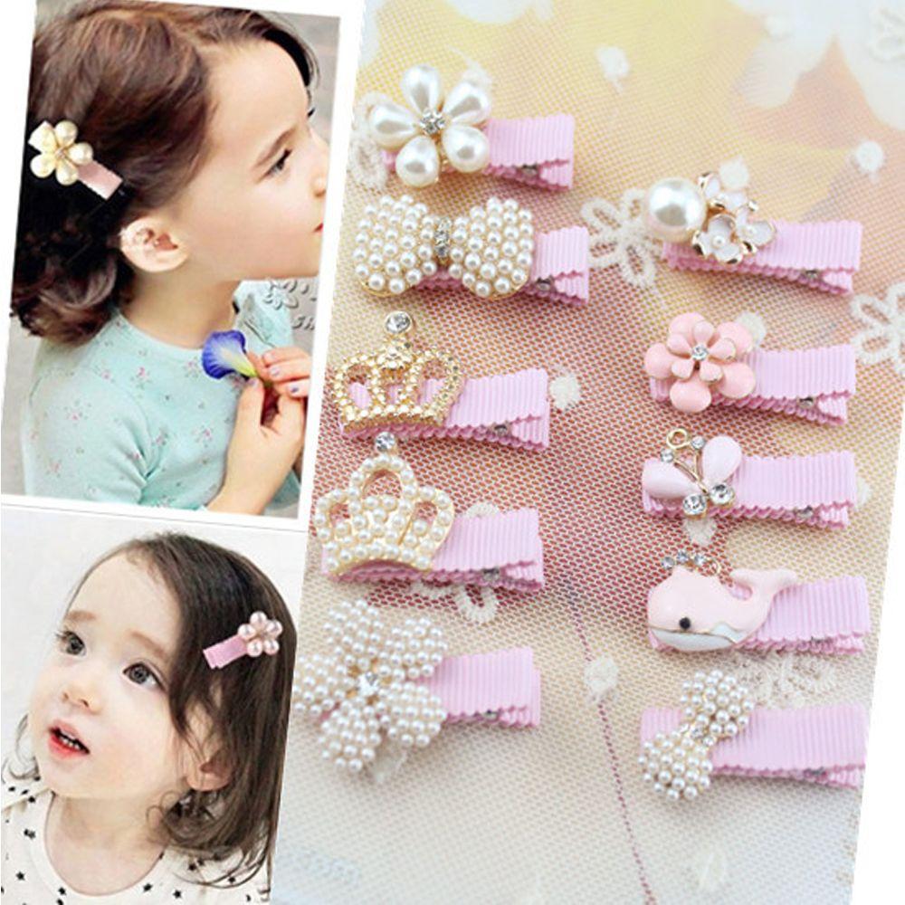 cb5279f7674c4 1 Pcs Tiaras Kids Floral Rhinestone Hair Accessories Bowknot Hair Clip  Children Crown Baby Flower Cute
