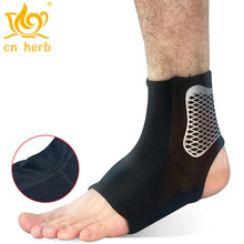 Cn Herb 2 pcs breathable ankle compression socks outdoor basketball football anti sprain protection equipment