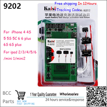 Kaisi K-9202 16 in 1 Professional Battery Activation Charge Board+Mic USB Cable for iPhone 4/5S/6/6S/6S Plus For iPad 2/3/4/5/6