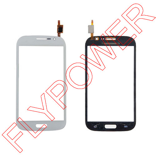 For Samsung Galaxy Grand Neo Plus i9060i Touch Screen Digitizer Panel with Duos white by Free Shipping:100% warranty
