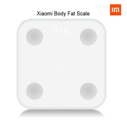 Trasporto libero di Nuovo arrivo xiaomi smart scala di Grasso Corporeo Bluetooth 4.0 mi scala digitale #2 nascosta Display A LED