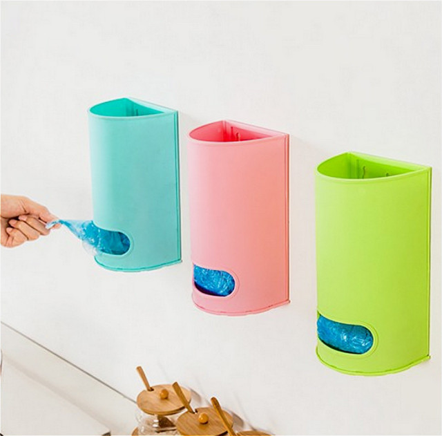 hot new Useful Home Wall Mount Plastic Carrier Bag Storage Container Holder Organizer Recycle Box  sc 1 st  AliExpress.com & hot new Useful Home Wall Mount Plastic Carrier Bag Storage Container ...