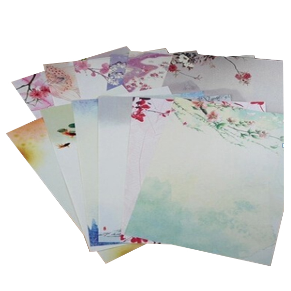 Affordable 48 sheets Writing Stationery Paper Vintage Flora Letter Writing Paper