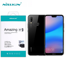 Dla Huawei P20 Lite ochraniacz ekranu Nillkin niesamowite H / H + PRO szkło hartowane dla Huawei P20 Lite Nova 3E (5.84 cala)