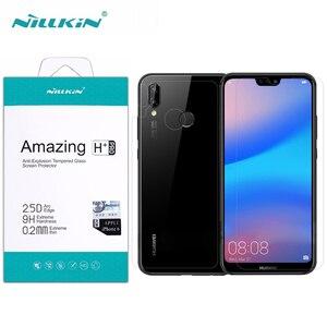 Image 1 - Pour Huawei P20 Lite protecteur décran Nillkin incroyable H/H + PRO verre trempé pour Huawei P20 Lite Nova 3E (5.84 pouces)