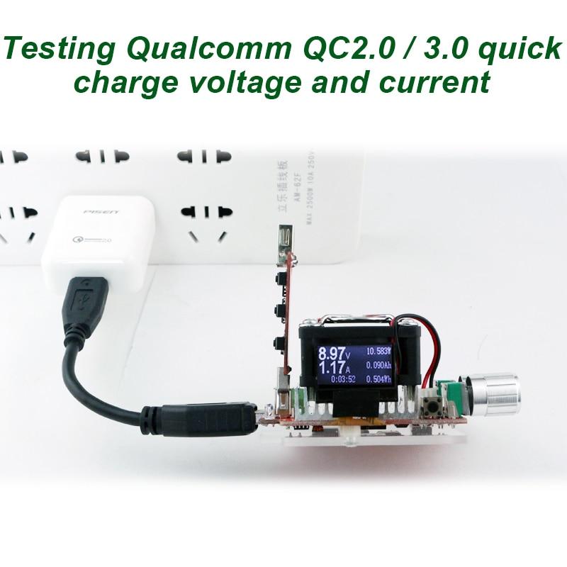 35W定電流ダブル調整可能電子負荷+ QC2.0 / - 計測器 - 写真 5
