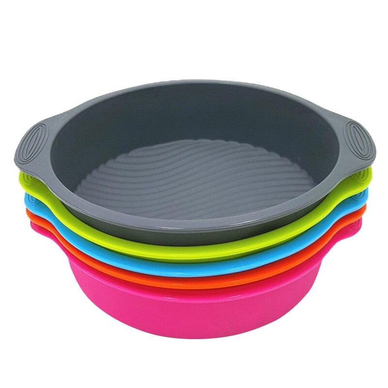 圆形蛋糕模具3D硅胶烘焙工具蛋糕制作锅烤盘模具XHC88床制作工具