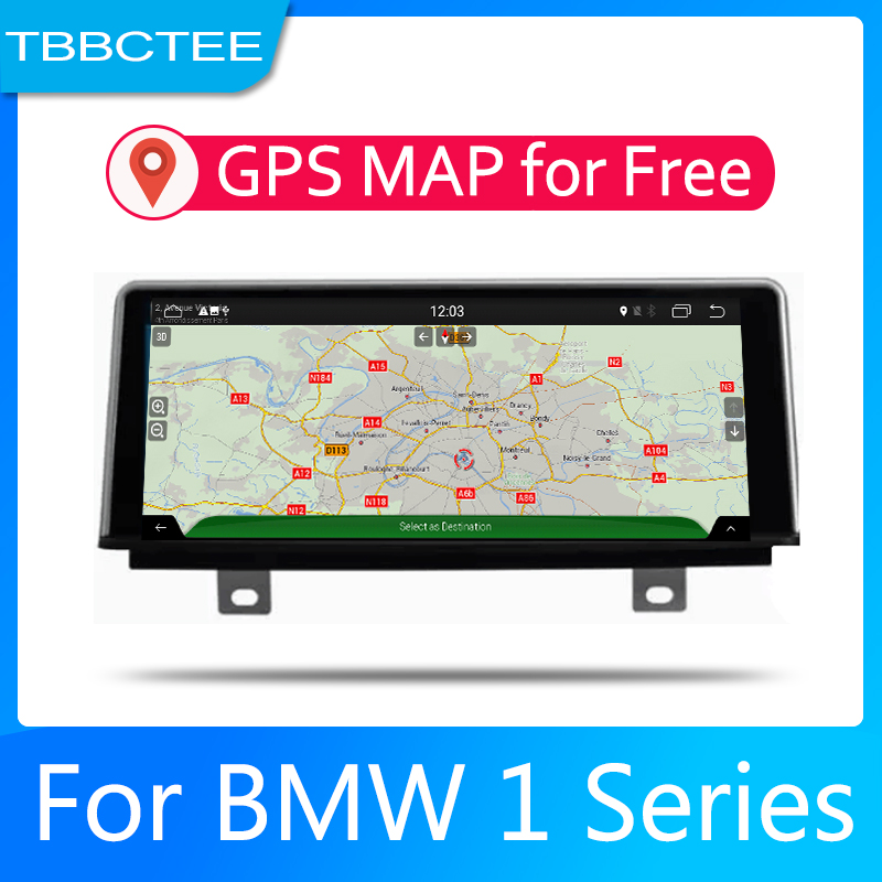Car Android System 1080P IPS LCD Screen For BMW 1 Series F20 F21 2011 2016 NBTCar Radio Player GPS Navigation BT WiFi AUX in Car Multimedia Player from Automobiles Motorcycles