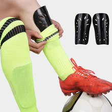 лучшая цена 1 Pair Soft Light Football Shin Pads Soccer Guards Supporters Sports Leg Protector For Kids Adult Protective Gear Shin Guard