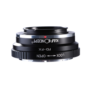 Image 3 - K&F Concept FD FX Lens Adapter Ring for Canon FD Mount Lens to Fujifilm FX Mount X Pro1 X E1 X A1 X M1 Cameras Body