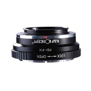 Image 3 - K & F مفهوم FD FX محول عدسات لكاميرا كانون FD جبل عدسة ل فوجي فيلم FX جبل X Pro1 X E1 X A1 X M1 كاميرات الجسم