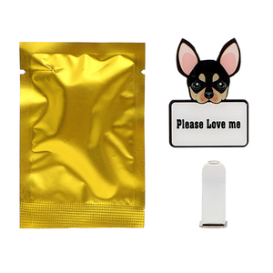 Image 5 - 車の出口香水かわいい子犬犬自動車空気清浄車の装飾ソリッドフレグランスエアコン出口クリップ自動装飾