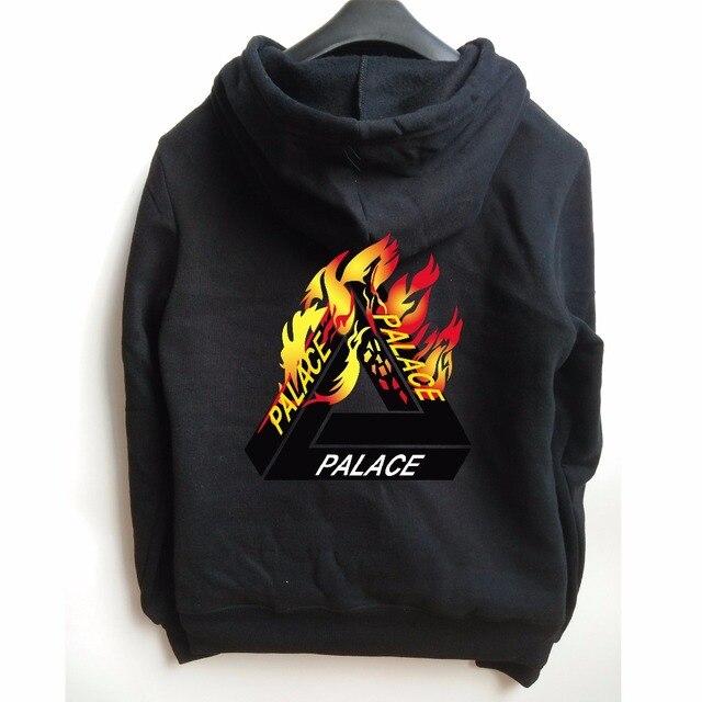 b417c391cf32 flame palace hoodie Men Streetwear Tracksuit Mens hoodies and sweatshirts  skateboard Sportswear hip hop hoodie Streetwear 2016