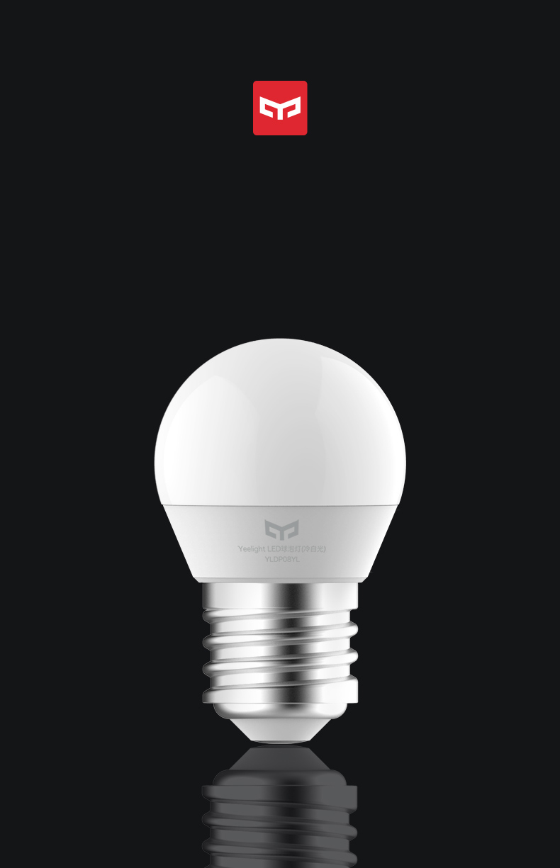 Bundled Sale Xiaomi Mijia Smart White LED E27 Bulb Light APP WiFi Remote Group Control 3000k-5700k 6.5W 450lm 220-240V 5060Hz (5)
