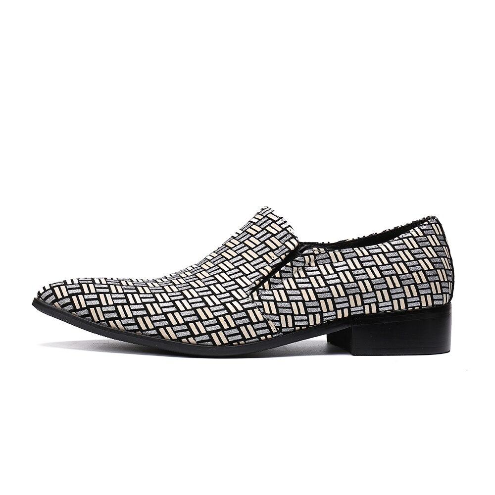 Cinza Casamento De Da Bella Oxford Apontou Christia Marca Mais Masculinos Dos Sapatos Homens Negócios Vestem Tamanho Casuais Se Calçados Barco IH0RqSw