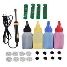 Kit de herramientas para recarga de cartucho de tóner en polvo + 4 chips para Cartucho Samsung CLT K404S LaserJet Pro 480FW C480 C480FN C480FW C480W