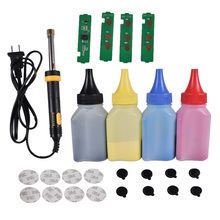Refill toner Poeder cartridge tool kit + 4 pcs chip VOOR Samsung CLT K404S cartridge LaserJet Pro 480FW C480 C480FN C480FW c480W