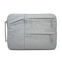 New Trend Nylon Informal Delicate Laptop computer Sleeve Bag for Macbook Air Professional 11 12 13 14 15 Inch Protecting Pill Case Purse Briefcase
