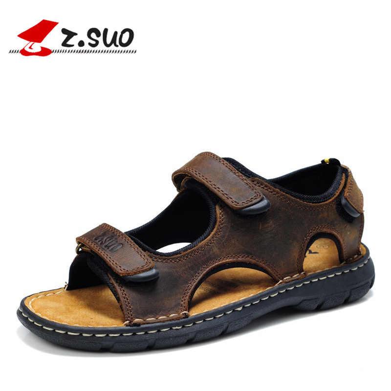 e1722c7f5 Подробнее Обратная связь Вопросы о Большие размеры 46, 47, 48, летние мужские  сандалии в стиле ретро, новинка 2017 года, модные мужские сандалии из  коровьей ...