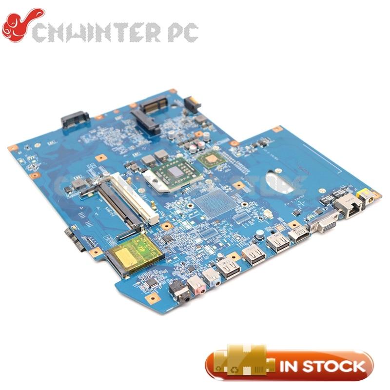 NOKOTION  For Acer ASPIRE 7540 laptop motherboard MBPJD01001 MBP.JD01.001 48.4FP02.011 Socket S1 ddr2 free cpuNOKOTION  For Acer ASPIRE 7540 laptop motherboard MBPJD01001 MBP.JD01.001 48.4FP02.011 Socket S1 ddr2 free cpu