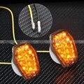 Пользовательские Дым LED Заподлицо Поворотник Мигалки Огни Маркер Для Suzuki GSXR SV Bandit