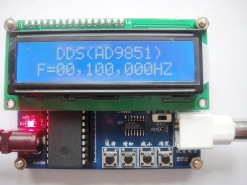 AD9851 DDS Function Signal Generator 0 50MHz DDS signal source DDS Module