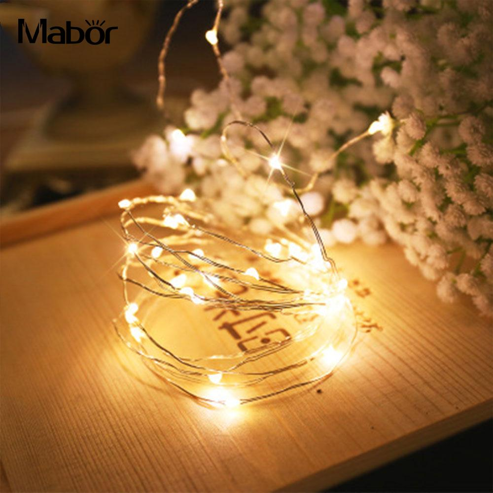 Warm White 100cm Festival Supply Light String Holiday Lighting Fairy Lights Modern Waterproof Home Indoor Decor