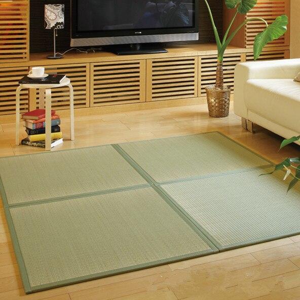 Online Diy Tatami Anese Igusa Mattress Indigenous Unit Mat Traditional Asian Design Flooring Panel Oriental Furniture Rug Aliexpress