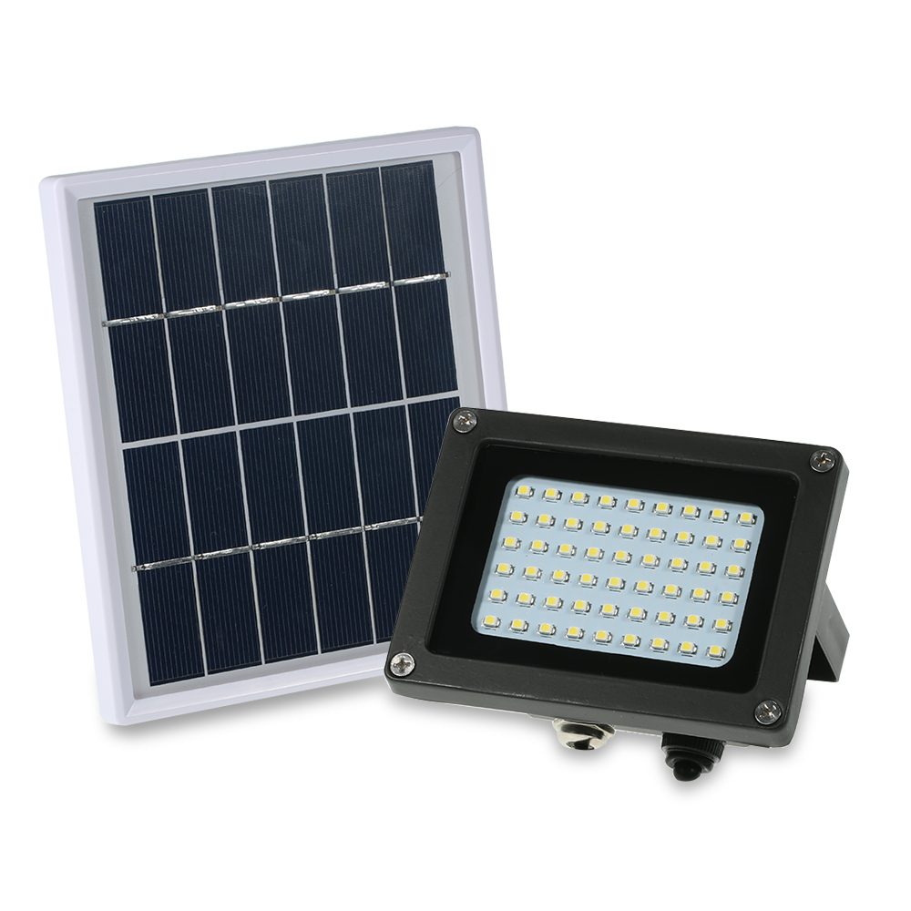 Solar Powered Floodlight 54 LED Solar Lights IP65 Waterproof Outdoor Security Lights for Home Garden Lawn