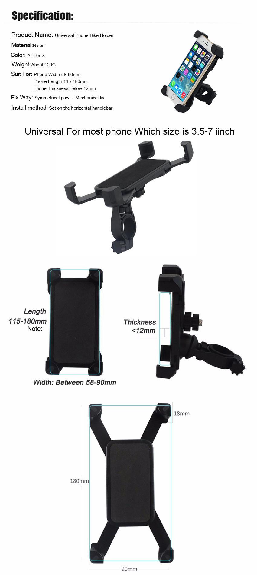 Bike Holder for Iphone 6s Samsung