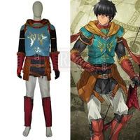 Fate/Grand Order FGO Arash Cosplay Costume Party Christmas Halloween Custom Made Any Size