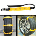 Car Snow Tire Anti-skid Chains Winter Snow Chains Size L Thickened Beef Tendon Vehicles Wheel Antiskid Tire Chains For 235-295mm