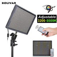 Kolivar Aputure hr672c CRI 95 + Pro светодиодный свет Би цвет 3200 5500 К + 2.4 г беспроводной REMONTE Управление Аксессуары для фотостудий Панель Освещение