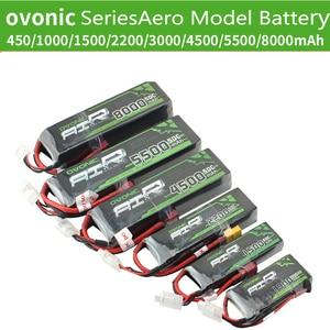 Ovonic Aviation Model 2S 3S 4S 6S Battery 1500 2200 4500 5500 8000 MAh Lithium Battery