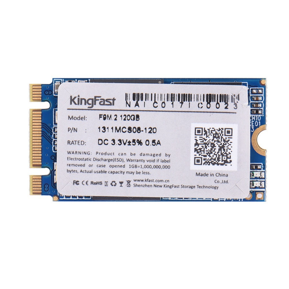 Original 2.5 MSATA SSD solid state disk for Desktop/Laptop 60GB 120GB 240GB Blue Internal Solid State Drives KingFast NGFF M.2