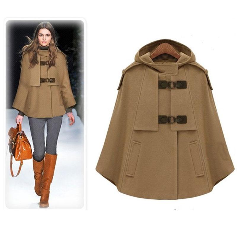Popular Camel Cape Coat-Buy Cheap Camel Cape Coat lots from China ...