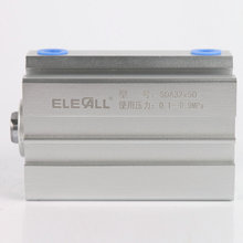 SDA32*10 / 32mm Bore 10mm Stroke Compact Air Cylinders Double Acting Pneumatic Air Cylinder sda40x15 40mm bore 15mm stroke double acting compact air cylinder