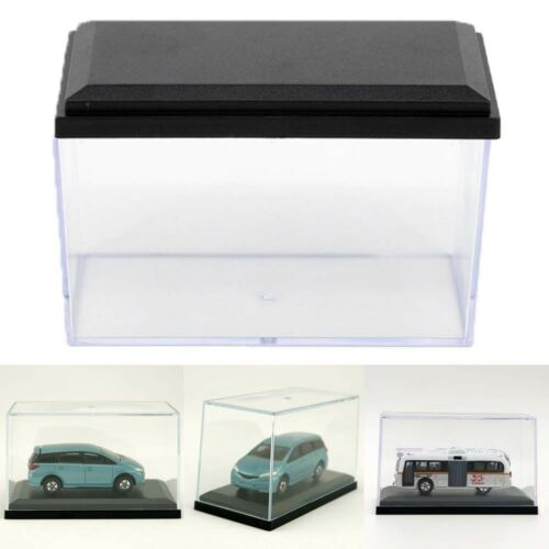 25x Display Box 1:64 Clear Plastic PVC Case Cover Show For Diecast Model Toy Car