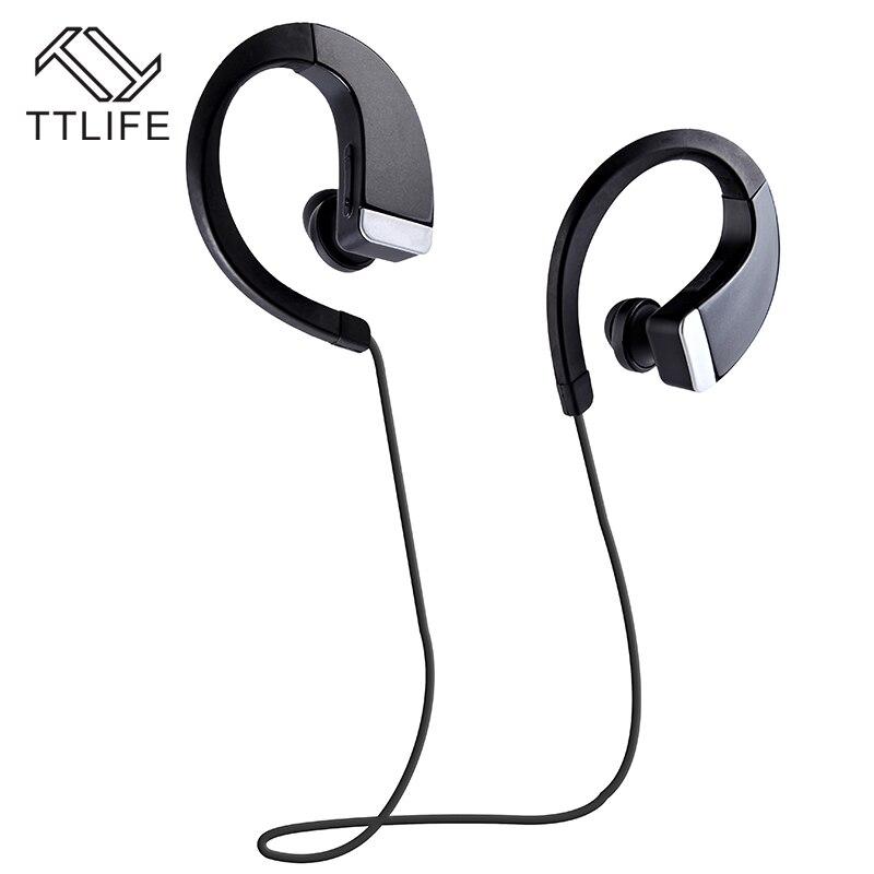 2016 TTLIFE Marca Nova Moda Fones de Ouvido Fones De Ouvido Bluetooth Sem  Fio Universal 4.0 Gancho do Ouvido Fone de Ouvido Mãos Livres com Microfone 90a4c5bc94