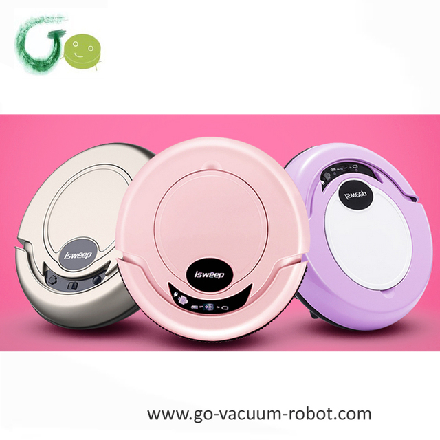 Smart 3 Colors Available Floor Vacuum Cleaner Robot Sweeper Hoover Clean Machine Mop Home