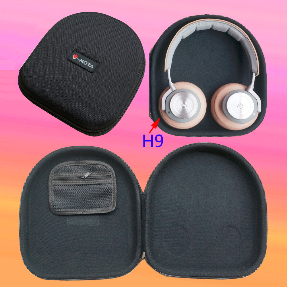 d47a325b955 V MOTA ANC headphone Carry case box for Focal Professional & Bang & Olufsen  B&O Play Beoplay H6 H7 H9 Over Ear Bluetooth headset-in Earphone  Accessories ...