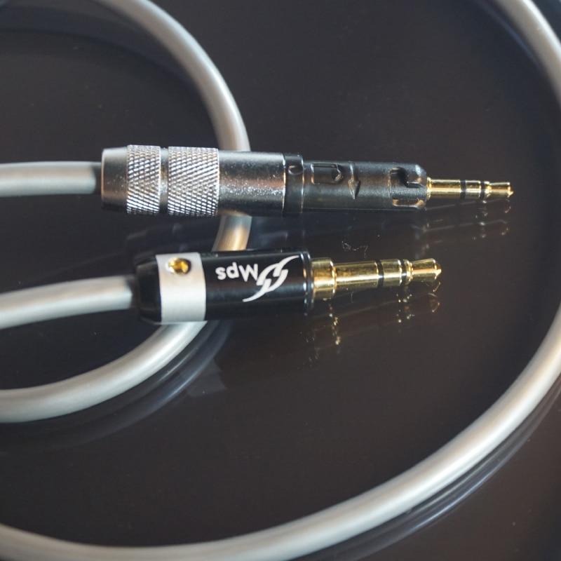 HiFi MPS X 7 HiFi 5N OCC 24K Gold Plated Plug 3 5mm 2 5 For