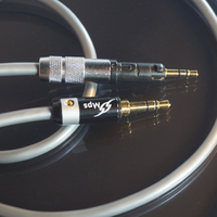 HiFi MPS X 7 HiFi 5N OCC+24K Gold Plated Plug 3.5mm 2.5 For ATH M50X ATH M70X series Headphones Audio cable