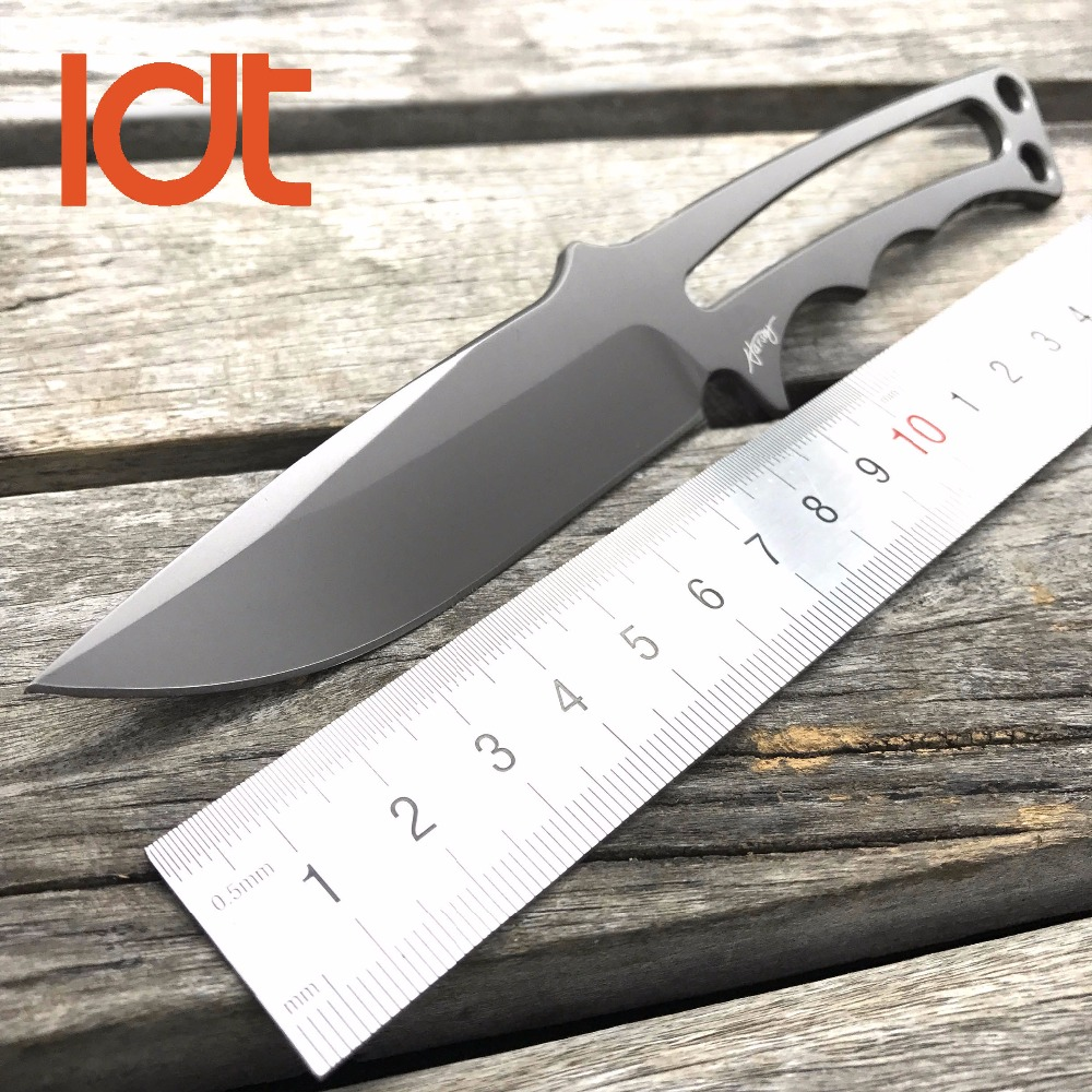 LDT CR Tactical Fixed Blade Knives CPM S35VN Blade Camping Straight Knife Military Survival Hunting Pocket OEM Outdoor EDC Tools oem gear heat fixed blade knife cpm s30v blade tactical knife camping hunting survival knives utility pocket cutter edc tools