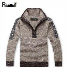 Мужской осень-зима брендовый свитер Для мужчин теплая водолазка в полоску хлопок и шерсть Свитеры для женщин Для мужчин S Повседневный пуловер вязаный джемпер