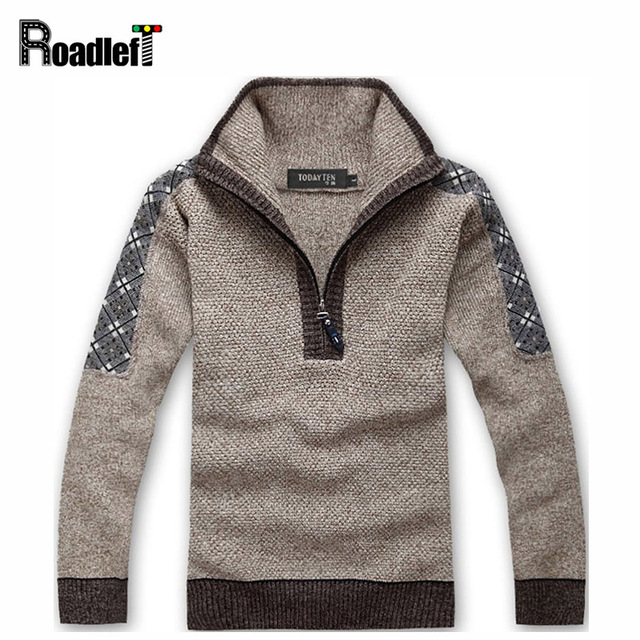 Male autumn & winter brand sweter sweater Men's thickening casual pullover Men jumper turtleneck knitted pull wool sweaters
