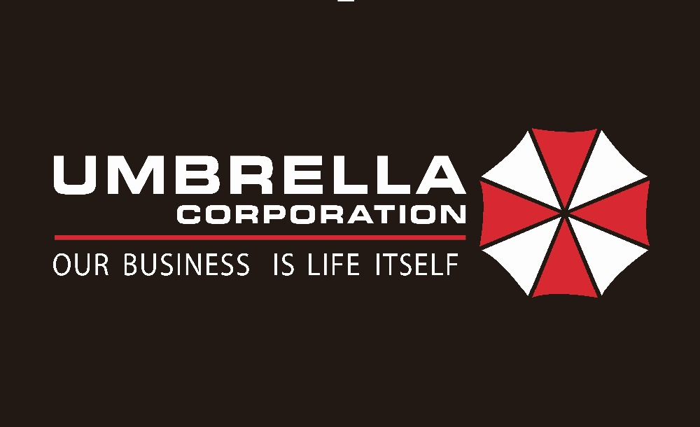 90*150cm umbrella corporation our business is life itself ...