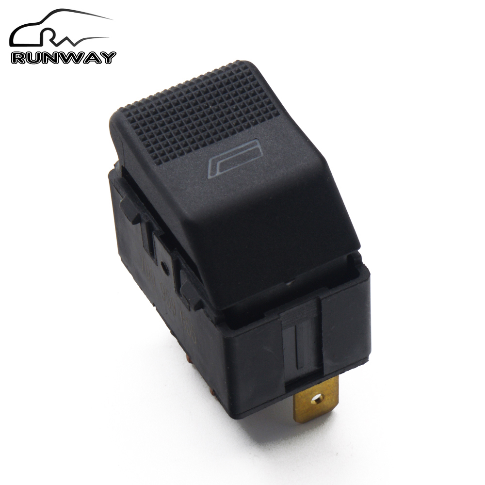 New Single Electronic Window Switch Power Window Control Button For Vw Volkswagen Transporter 4